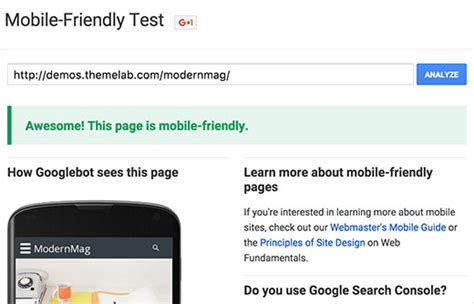 themes for google mobile google mobile friendliness chck premium wordpress themes