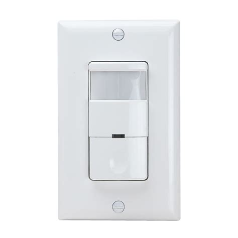 Pir Wall Sensor With Built In Night Light Switch Enerlites