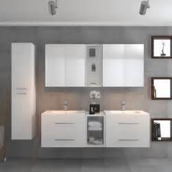 sonix vanity bathroom suite white buy at