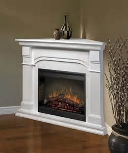 corner fireplaces ventless gas fireplace corner white