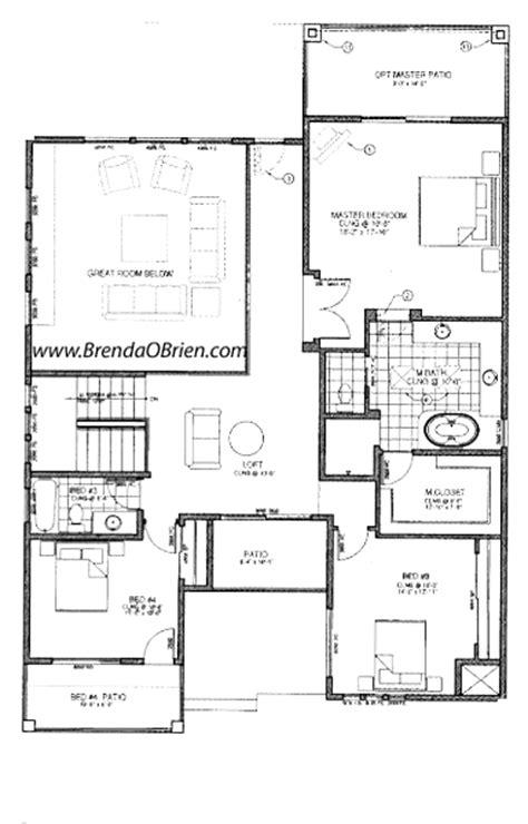 master bedroom upstairs floor plans skyranch floor plan model d upstairs