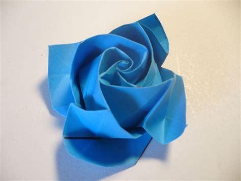 Origami Rose in Bloom