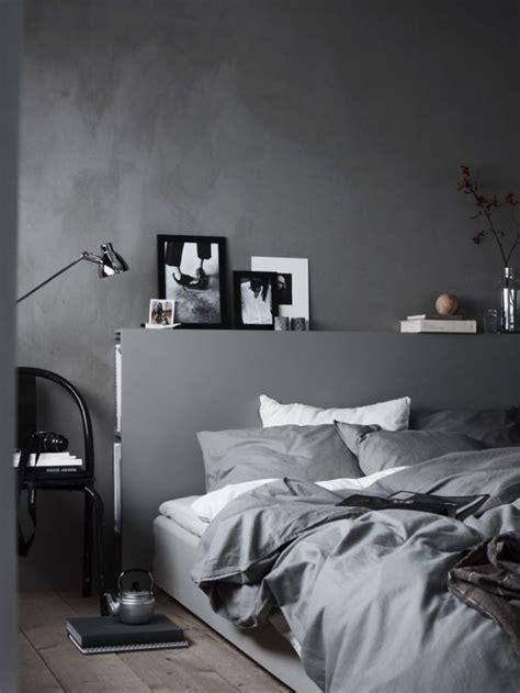 schlafzimmer graues bett graues schlafzimmer ton in ton schlafzimmer schlafen