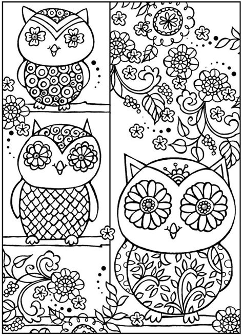 owl zentangle coloring page 136 best images about zentangle on pinterest