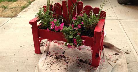 bench with flower box rustic bench planter box hometalk