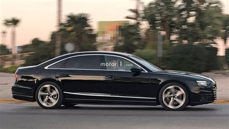 The New Audi A8 2018 by 2018 Audi A8 Drops Camouflage In New Photos