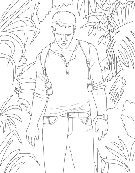 Uncharted 4 Coloring Pages by Sony Has A Coloring Book For Grown Up Gamers Because Why