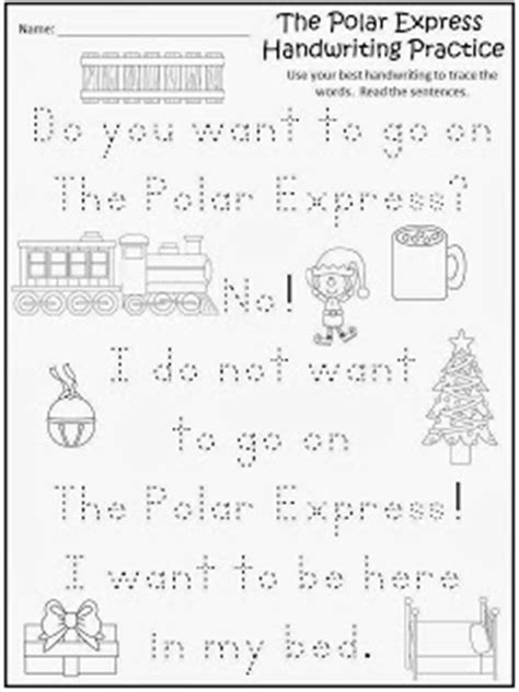 polar express printable activity sheets fairy tales and fiction by 2 the polar express all aboard