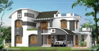 modern contemporary home plans february 2012 kerala home design and floor plans
