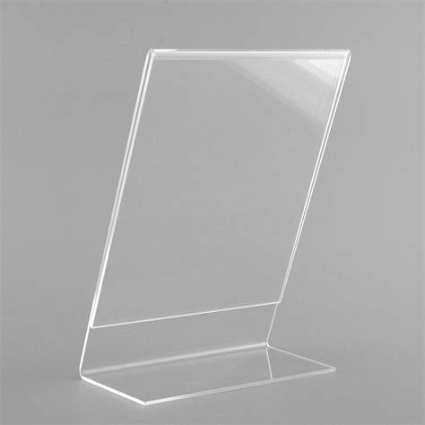 Acrylic Menu acrylic plastic poster menu holder perspex leaflet display