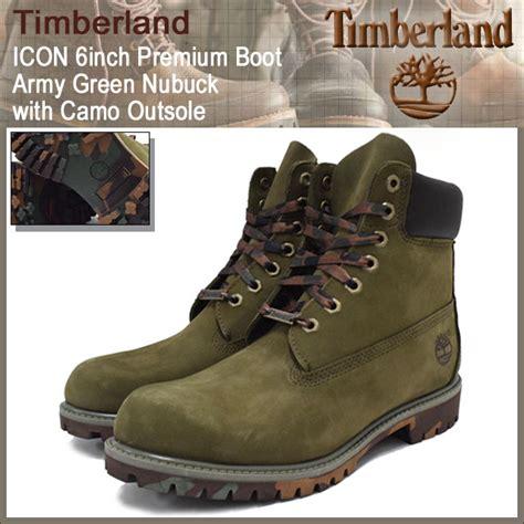 Sepatu Murah Timberlan Boots Army field rakuten global market timberland timberland boots icon 6 inch premium army green