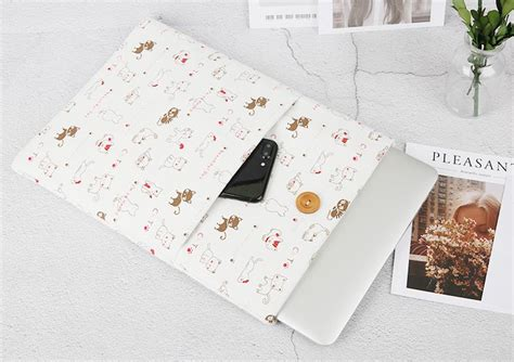 Macbook Vertical Macbook Laptop 13 Inch Sleeve Sarung Casing linen sleeve macbook air pro 13 3 inch blue jakartanotebook