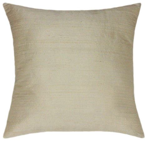 cream couch pillows dupioni cream silk throw pillow decorative pillows