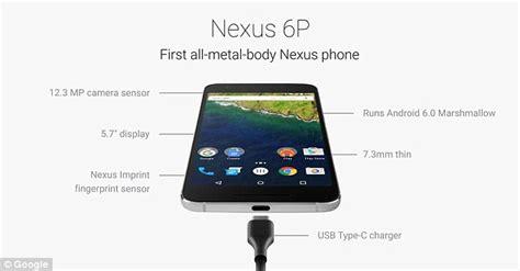 nexus 7 charger specs unveil new nexus 5x and 6p handsets chromecast tv