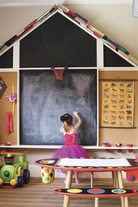 pinteret kid bedroom chalkboard wall small house plans
