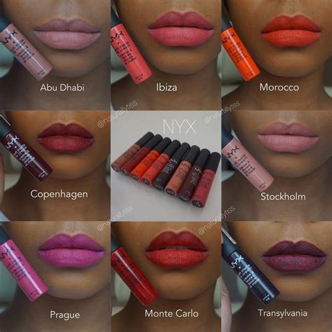 Lipgloss Nyx Matte best 25 nyx matte lip gloss ideas on best