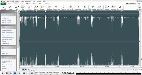 best audio editor top 20 best free audio editing software for windows mac