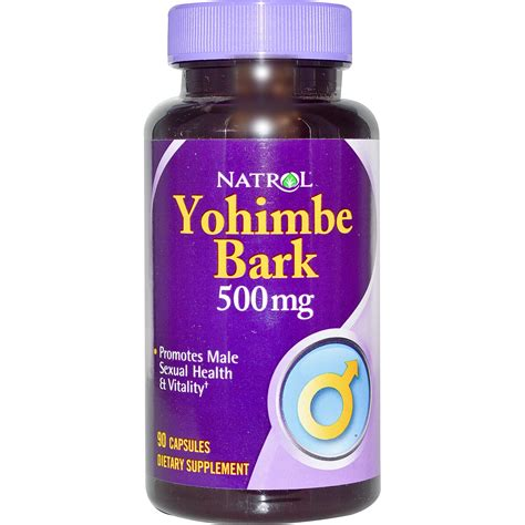 Suplemen Yohimbe Iherb Customer Reviews Natrol Yohimbe Bark 500 Mg