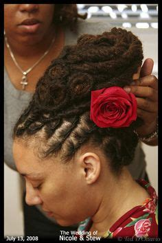 Wedding Hair For Dreadlocks by 1000 Images About Wedding Hair Styles On