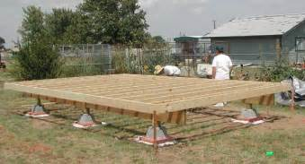 building a shed anybody the formula for concrete