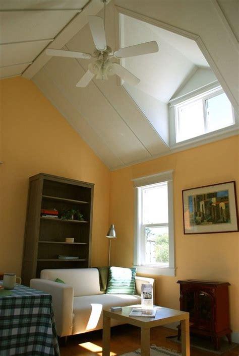 vaulted ceilings  dormers   living room feel