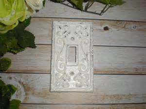 white decorative light switch plate single switch cover