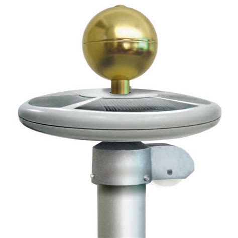 In Ground Solar Lights Top Mount In Ground Flagpole Solar Light