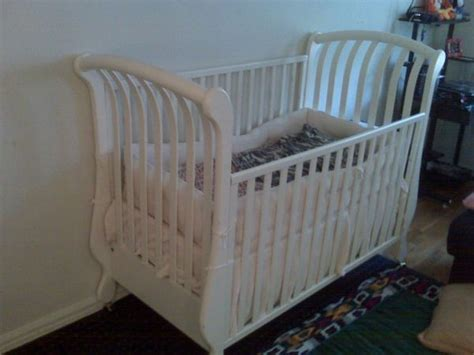 pali paula baby crib white made in italy sheepshead