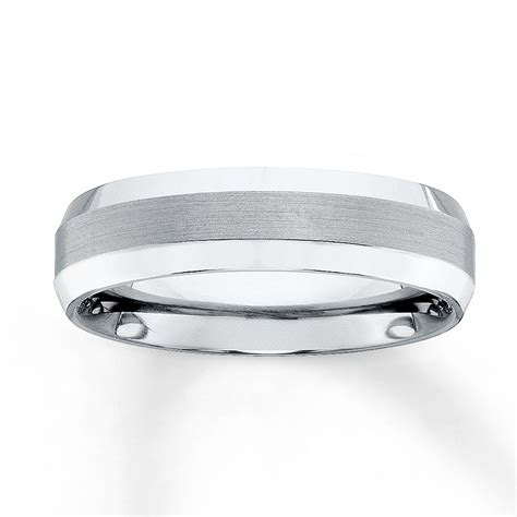 Wedding Bands At Kays by Wedding Band Titanium 6mm