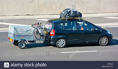 porte velo voiture hayon car towing trailer photos car towing trailer images alamy