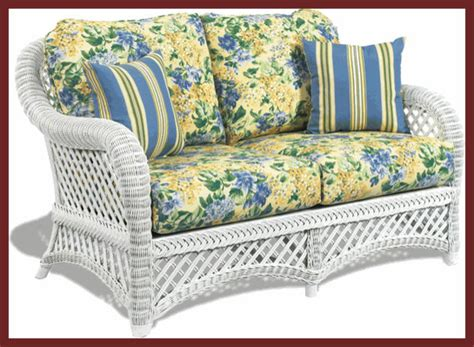 traditional wicker outdoor furniture white wicker loveseat lanai style traditional patio