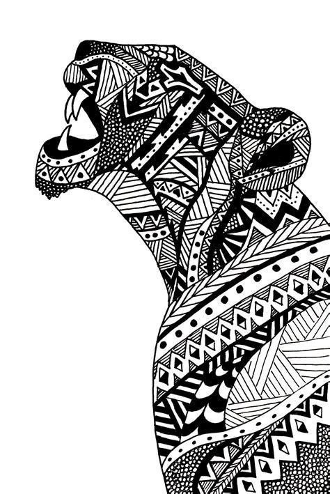 feathered lion tangle zentangle animals pinterest agathe altwegg lioness illustration tangle your head