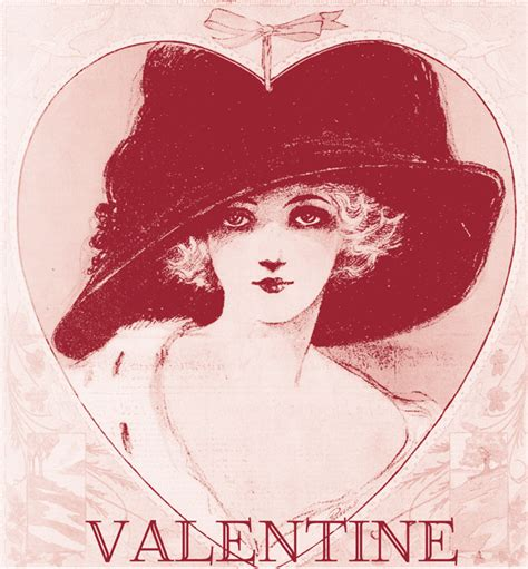 vintage valentines day cards printable wallpaper