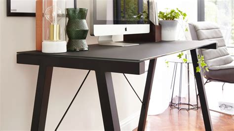limble ii glass computer desk black glass desk best home design 2018
