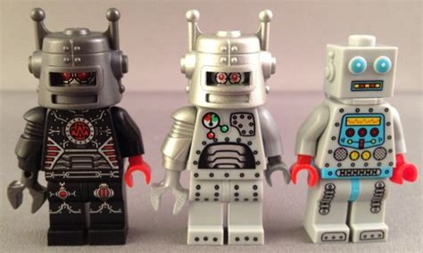Lego Minifigures Series 6 8827 Butcher Minifigure Seri 6 14 Misp lego series 8 collectible minifigure review evil robot