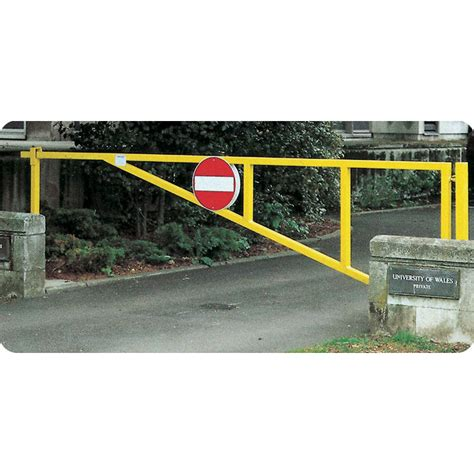 manual swing gate puma manual swing barrier gates for car parks access
