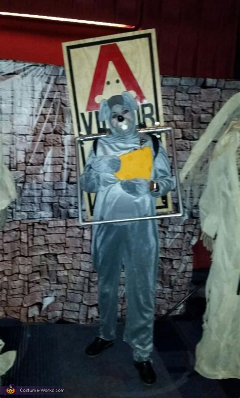 mouse trap adult homemade costume