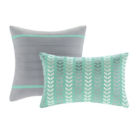 teal bedding twin nadia twin xl comforter set chevron teal free shipping