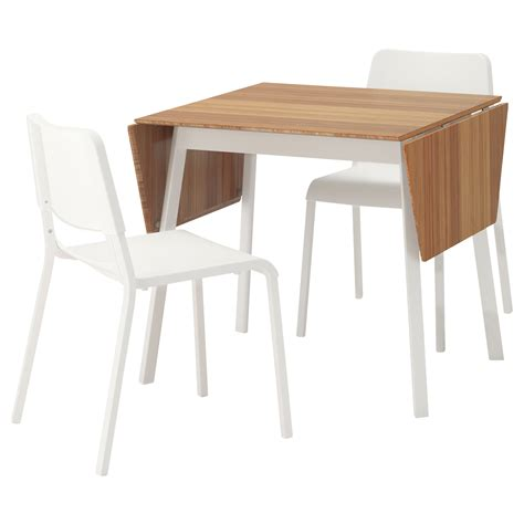Teodores Ikea Ps 2012 Table And 2 Chairs Bamboo White Desk And Chair Set Ikea