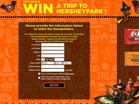 Family Dollar Sweepstakes - family dollar halloween giveaway sweepstakes