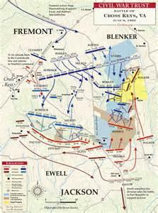 virginia civil war battle of cross map battlefield
