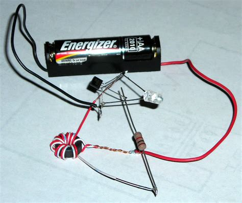 buat lu led pakai baterai hp energy independence robin hood and the joule thief