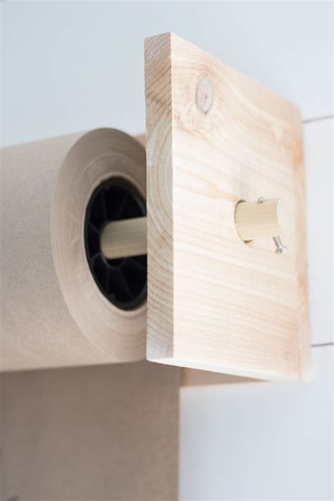 butcher block paper rolls diy butcher paper holder seeking lavendar