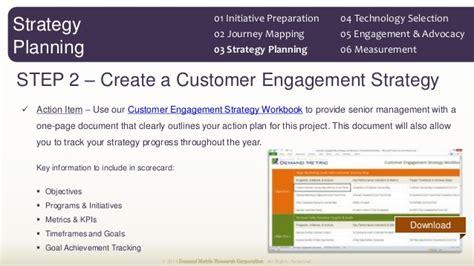 customer engagement plan template customer engagement plan methodology