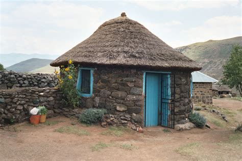 Tradisionele Xhosa Hutte by Rondavel