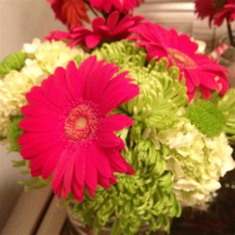gerbera wedding centerpiece event floral designs by a