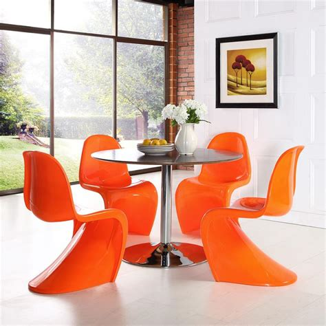 panton  chair  glossy finish  colors modernselections