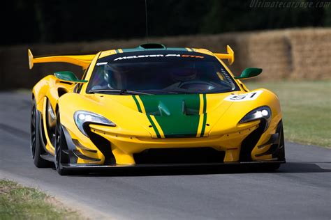 mclaren p gtr images specifications  information