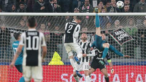 ronaldo juventus 2018 goal chions league news zinedine zidane s gamble pays