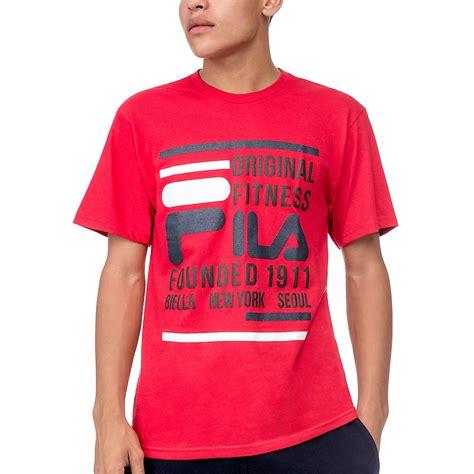 Polo Shirt Filla S M L Xl Hitam s polos tennis shirts crews fila